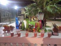 בר פירות בחתונה בחוץ
