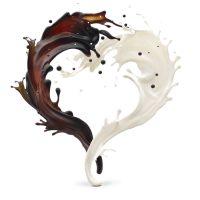 מזרקת שוקולד לבן וחום