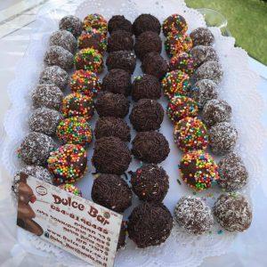 בר שוקולד כדורים של דולס'ה
